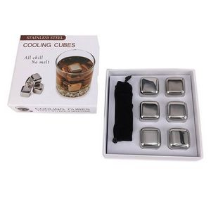 Stainless Steel Cooling Cube 6 Pieces/Set
