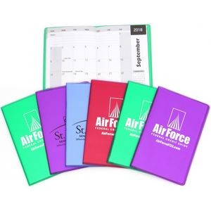 Translucent Vinyl Monthly Pocket Planners