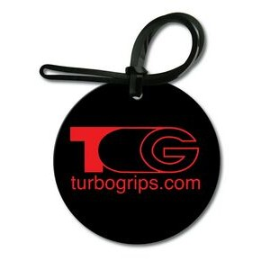 Bag & Luggage Tag - Large Round - Spot Color