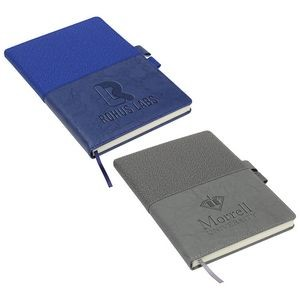 Quarry Textured Journal with Interlocking Pen Closure