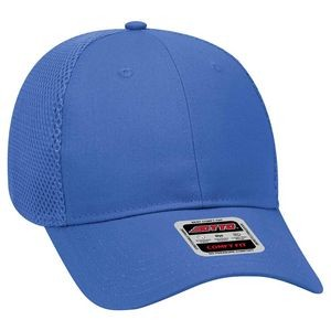 OTTO 6 Panel Low Profile Cotton Twill w/ Polyester Air Mesh Back Baseball Cap