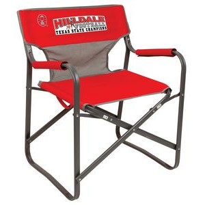 Coleman Steel Deck Chair with Mesh