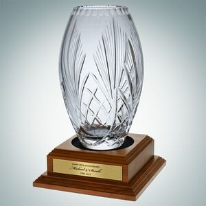 Lead Crystal Majestic Vase
